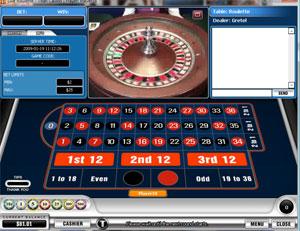 Live Dealer Roulette at Titan Casino