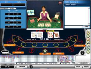 Titan Casino live blackjack dealer